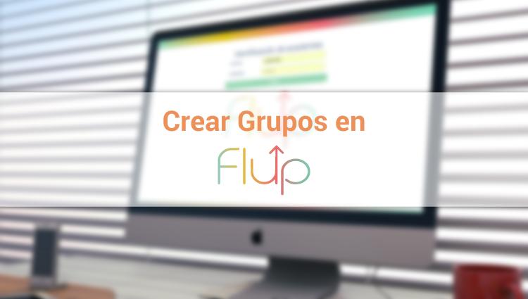 Cómo crear un grupo en Flup.