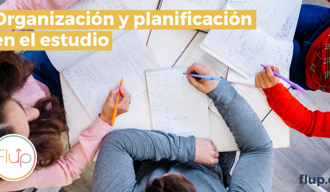 Planificación y organización en el estudio