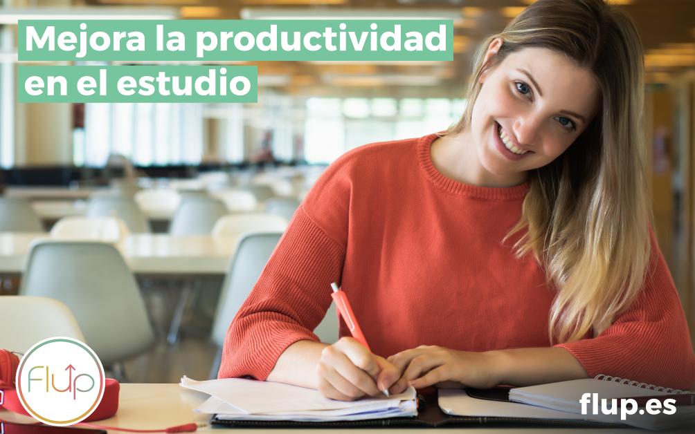 ¿Cómo mejorar la productividad en el estudio?