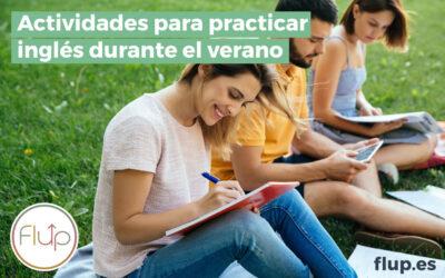 Actividades para practicar inglés durante el verano