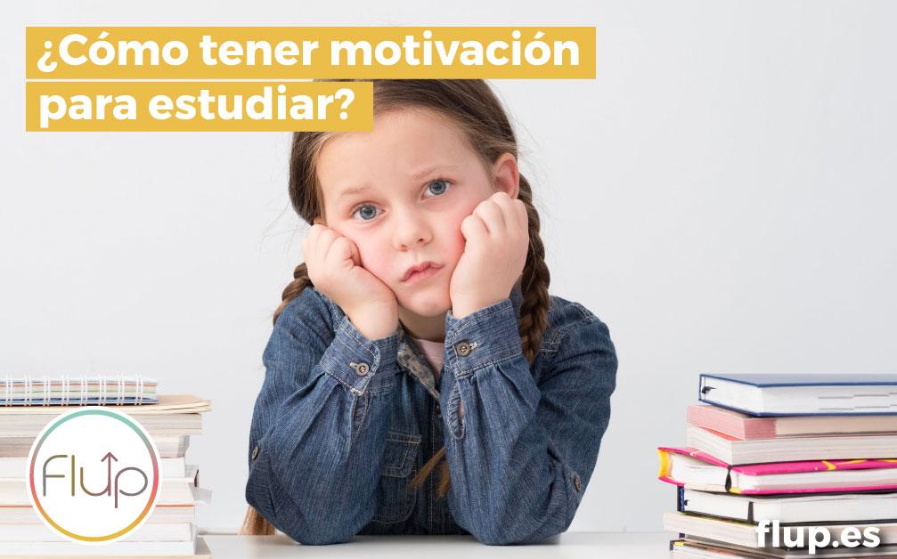 ¿Cómo tener motivación para estudiar?
