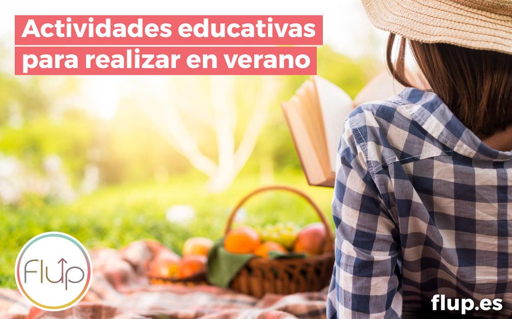 Actividades educativas para realizar en verano