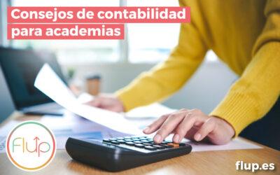 Consejos de contabilidad para academias